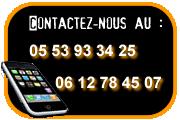 Contact par téléphone ou par e-mail